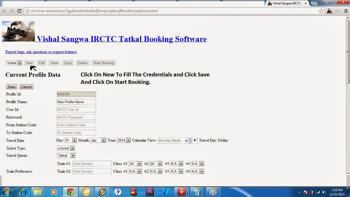 IRCTC Tatkal Booking With Software  | WHITE HAT HACKER